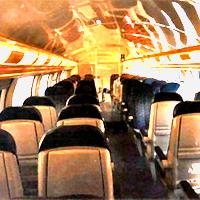 Interior de un vagón