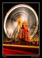 Cardiff - Winter Wheel (Antony....) Tags: longexposure winter wheel wales geotagged lights nightshot traffic cymru cardiff explore trail wonderland bigwheel zuiko wfc helterskelter 1445 ndx6 geo:lat=5148455 geo:lon=3177699