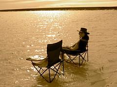 Sunbathing (literally!) (Daria Angeli) Tags: people water portraits landscapes australia oceania emptyseats
