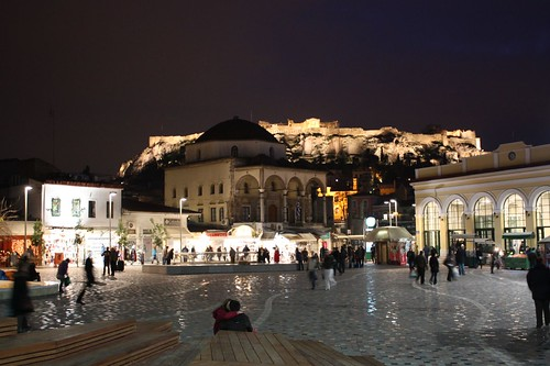 Monastiraki by Night