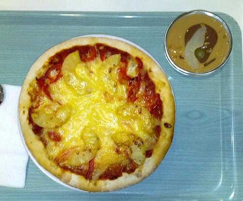 Pizza Hawaii - vegetarisch