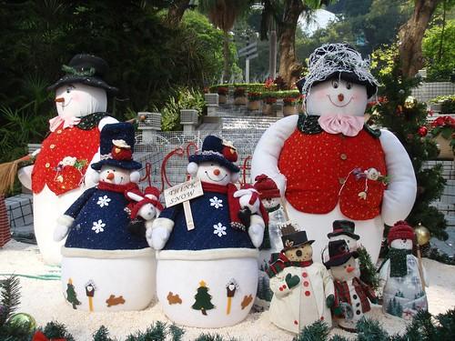 Nieve en Hong Kong