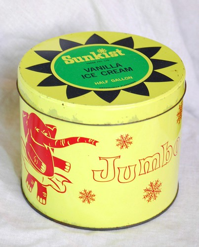 sunkist ice cream tin