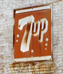 OH, Ohio City-The Gathering Place 7Up Wall Sign