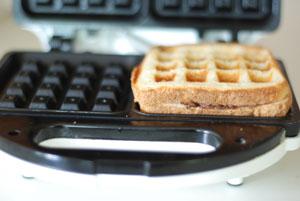 chocolate waffle sandwich 2