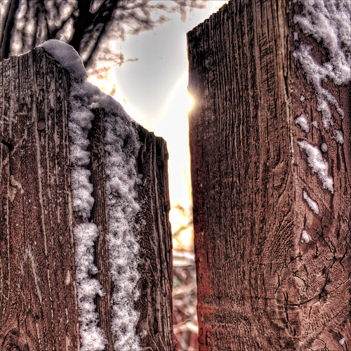 Fencepost HDR Topaz