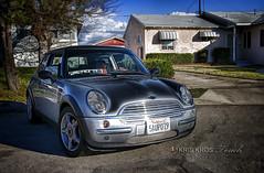 mini hdr paint (Kris Kros) Tags: auto car digital silver photography high automobile paint dynamic small wheels mini headlights grill coche cooper range hdr petite kkg 3xp photomatix mycameraneverlies kkgallery