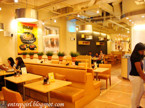 Pepper Lunch interior