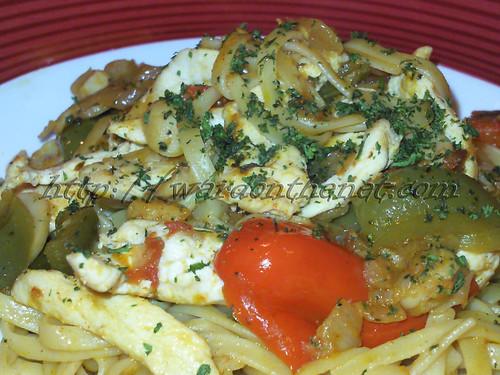 Tossed Tomato-Basil Chicken Pasta