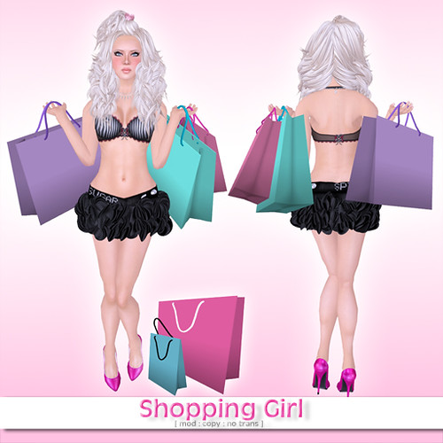 "Juicy Pose ""Shopping Girl"" freebie by you."
