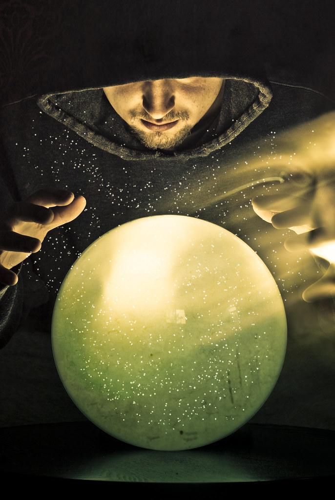 Looking into my crystal ball
