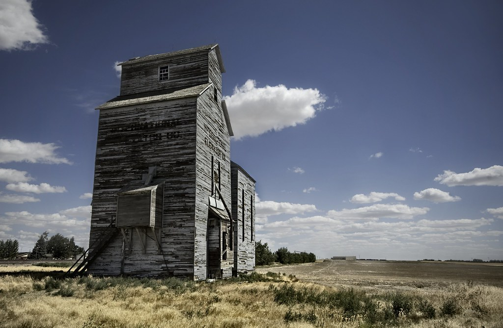 The Old Silo Against the Elements