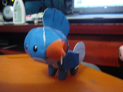 Mudkip (Lipe Kiss) Tags: pokemon papercraft pepakura