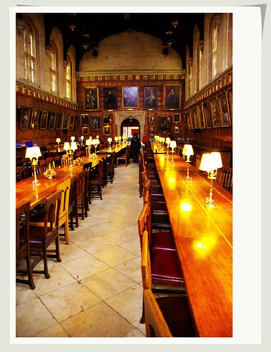 C:\ 拍攝的 Harry Potter's Dining Hall 哈利波特的餐厅。