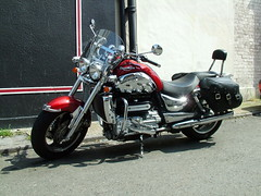 Red Rocket III (kenjonbro) Tags: 2005 uk red kent iii chrome triumph rocket 2300cc