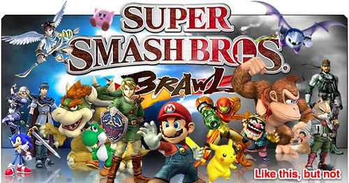 Smash Bros Coming to Wii U and 3DS