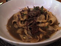 Papardelle and short rib ragout