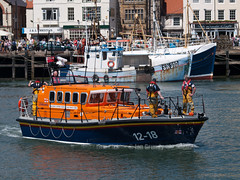 Scarborough Lifeboat 3822 (stagedoor) Tags: uk england tourism water marina boats town harbour olympus tourist resort lifeboat northsea scarborough e3 oldtown northyorkshire armedforces 1218 fishingport armedforcesday sandside rnlb fannyvictoriawilkinsonfrankstubbs