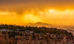 Yellow (Amy Hudechek Photography) Tags: sunset rain yellow colorado getty gettyimages coloradonationalmonument happyphotographer amyhudechek