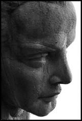 (oljmpya) Tags: bw sculpture rome roma cemetery statue meeting statua biancoenero italians scultura raduno cimiteroacattolico oljmpya flickritalia
