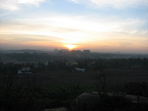 sunrise scene at Turahalli 090308