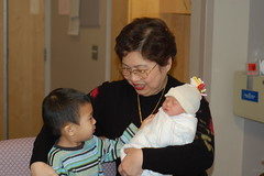Ah Mah and her grandkids