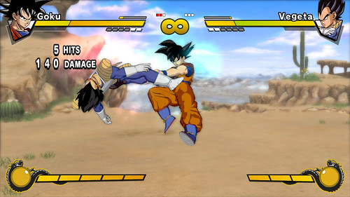 juego Dragon Ball Z Burst Limit Goku y Vegeta