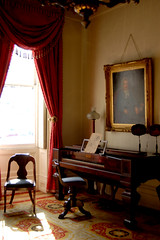 Front Parlor Piano by Curious Expeditions, on Flickr