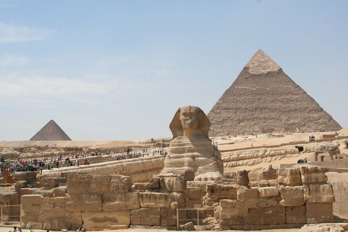 Egypt. Sphinx and Pyramids