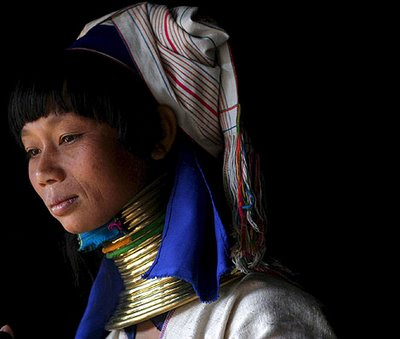 Woman - Paudang tribe - Thailand