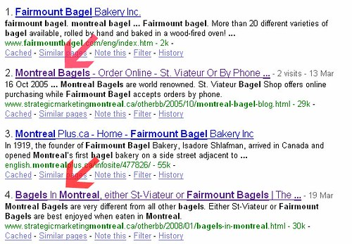 Google Not Grouping Results?