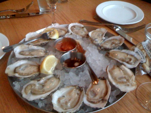 If I had to choose my last meal, oysters on the half shell would absolutely