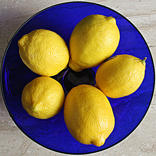 Lemons are a common ingredient in eco-friendly cleaning products.