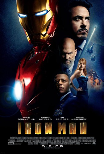 Official Iron Man Movie Poster