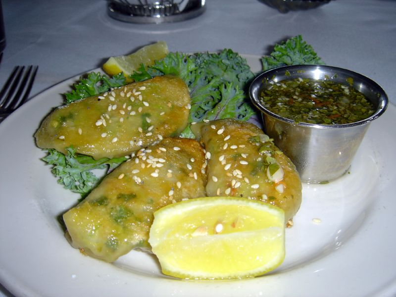 Crab Potstickers
