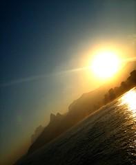 Fim de tarde no Arpoador.... (Mathias do Valle) Tags: sunset brazil sun sol brasil riodejaneiro rj prdosol arpoador diamondclassphotographer flickrdiamond mathiasdovalle