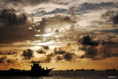 Another Boat.. (Kidd *) Tags: sun love clouds big nikon rocks asia view time you d large it maldives d40 saarc menonaboat