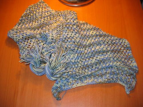 Montego Bay scarf, sans fringe