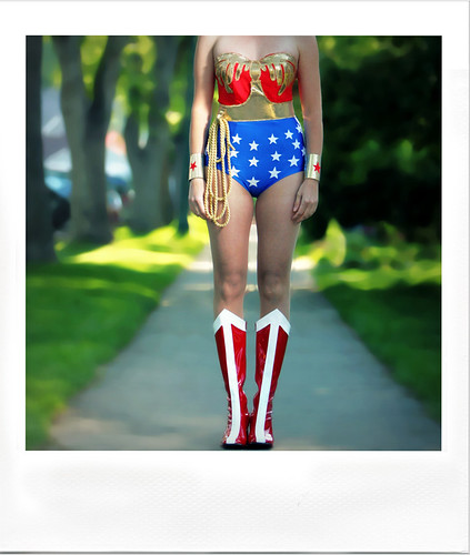 wonder girl polaroid -headless