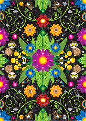 Flower Power (francescoporoli) Tags: illustration illustrator flowerpower vektor poroli