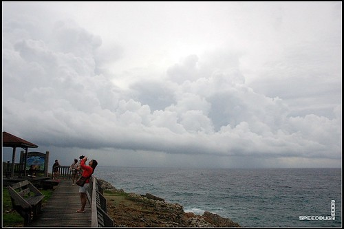 遠方又在下大雨了!!