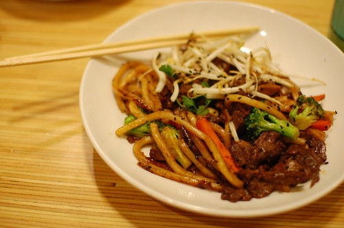 Noodles at f/1.4