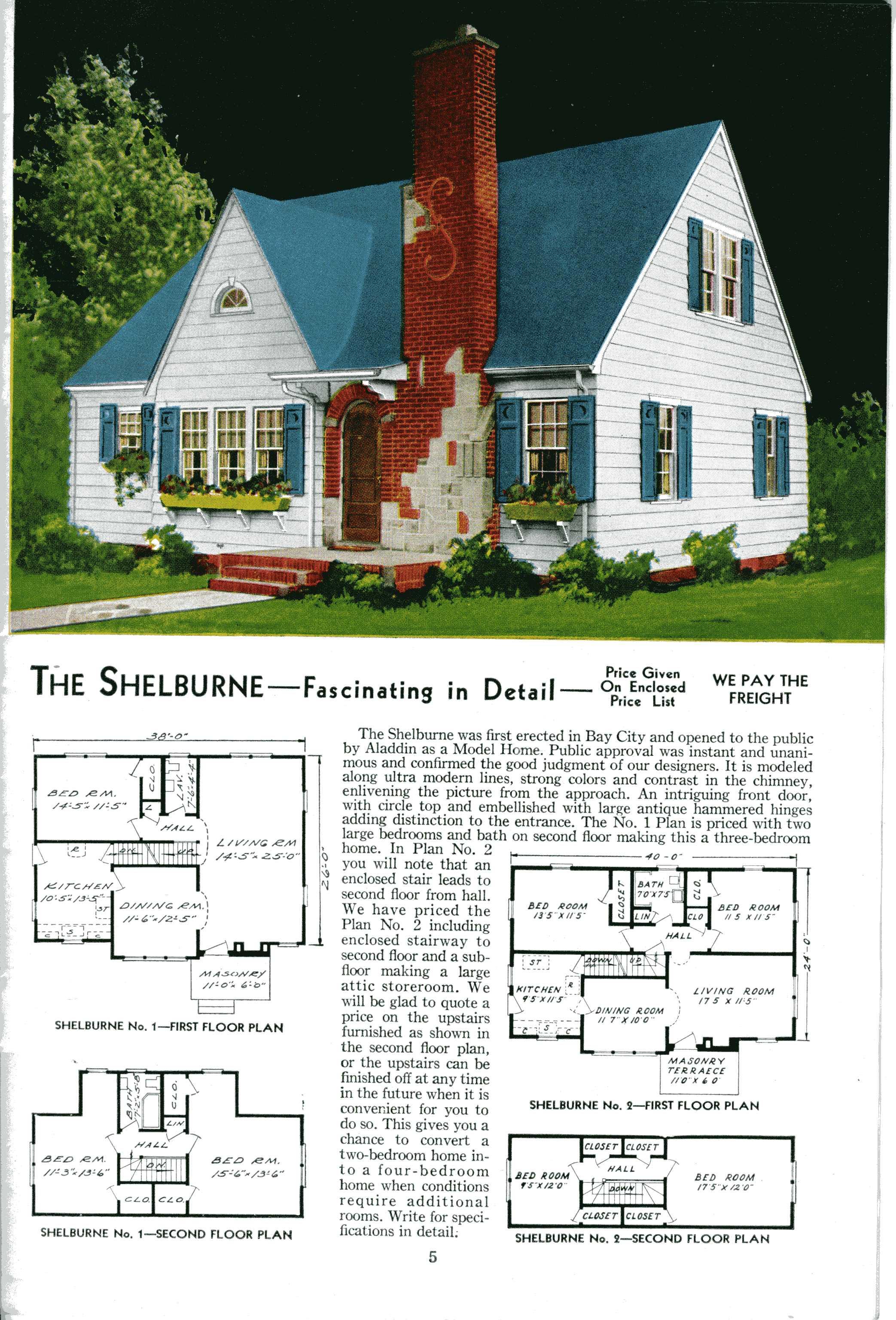 1923 Sears Kit House Catalog – Sears Homes Floor Plans