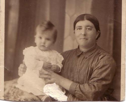 Teresa Gonzalo con su madre Paulina Oliva