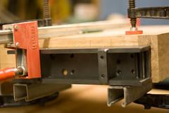 IMG_9960 (ShaneDugas) Tags: wood clamp redoak workbench vise tailvise facevise endvise