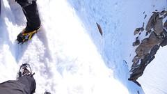 Cosmiques Arête (chaletlaforet) Tags: mountaineering chamonix aiguilledumidi cosmiquesarête