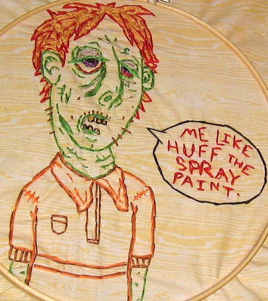 paint huffer