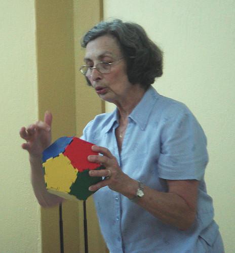 Chicha Lynch- 6. Festival Internacional de Matemática, Palmares, Costa Rica
