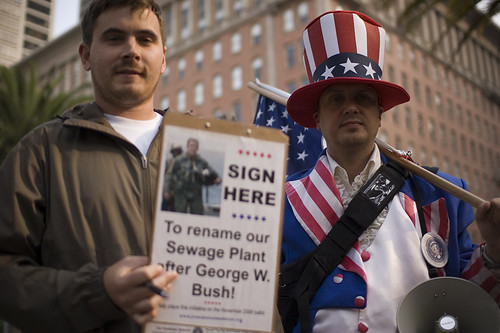George W. Bush Sewer Plant