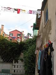 clotheslines! (berndtjb) Tags: clotheslines venicecourtyard